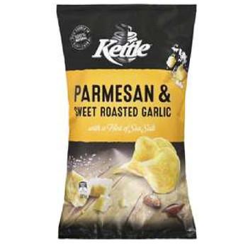 Kettle Parmesan & Garlic Chips 175g