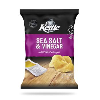 Kettle Salt & Vinegar Chips 175g