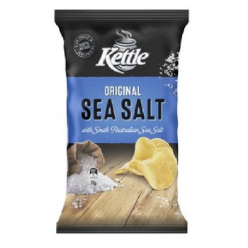 Kettle Sea Salt Chips 175g