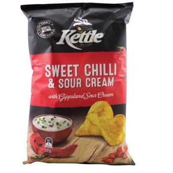 Kettle Sweet Chilli Sour Cream Chips 175g