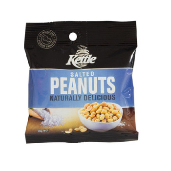 Kettle Salted Peanuts 50g