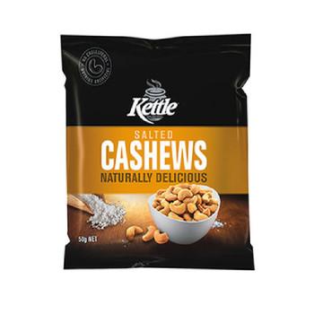 Kettle Salted Cashews 50g