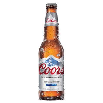 Coors Crisp Lager Bottles 330ml