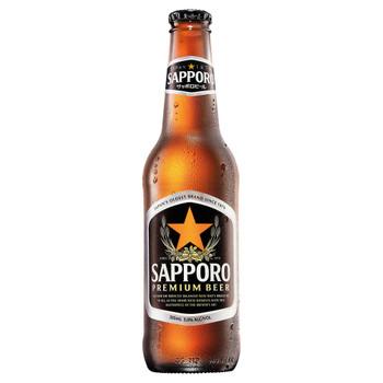 Sapporo Premium Lager Bottles 355ml