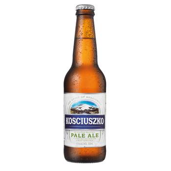 Kosciuszko Pale Ale Bottles 330ml