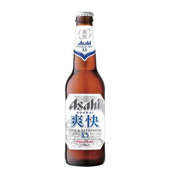 Asahi Soukai Premium Lager Bottles 330ml