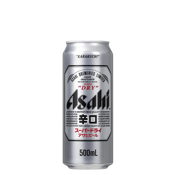 Asahi Super Dry Lager Cans 500ml