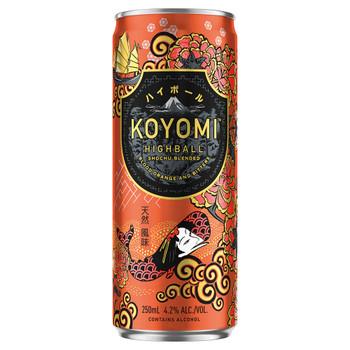 Koyomi HighBall Blood Orange and Bitters 250ml
