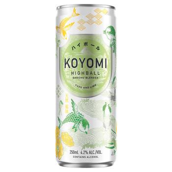 Koyomi HighBall Yuzu and Lime 250ml
