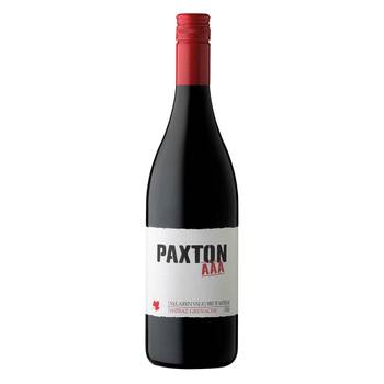 Paxton AAA Organic Shiraz Grenache