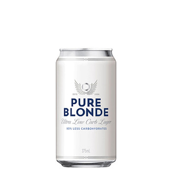 Pure Blonde Ultra Low Carb Cans 375ml