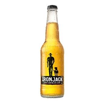 Iron Jack Crisp Mid Strength Lager Bottles 330ml
