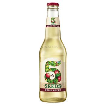 Tooheys 5 Seed Crisp Apple Cider Bottles 345ml