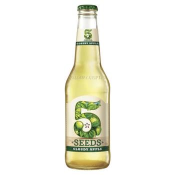 Tooheys 5 Seed Cloudy Apple Cider Bottles 345ml