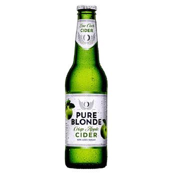 Pure Blonde Organic Cider Bottles 355ml