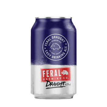 Feral Brewing Co Draught Cans 375ml