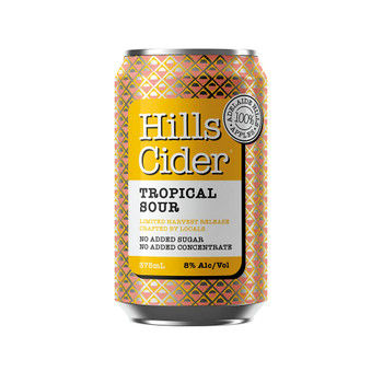 The Hills Cider Co Tropical Sour Cider Cans 375ml
