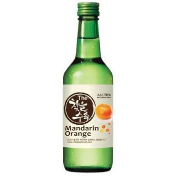 Chateul Soorok Mandarin Soju Bottle 375ml