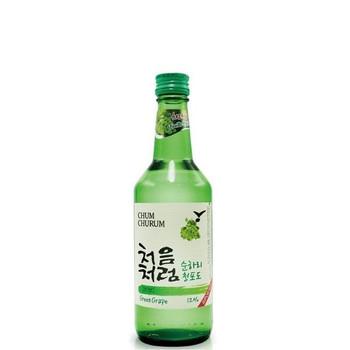 Chum Churum Green Grape Soju Bottle 360ml