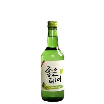 Good Day Green Grape Soju Bottle 360ml