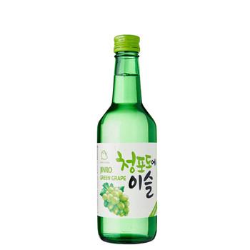 Jinro Green Grape Soju Bottle 360ml