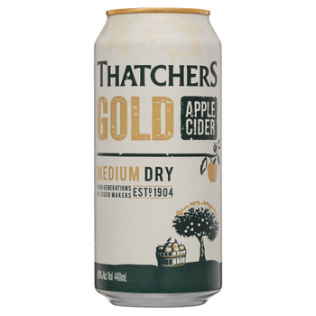 Thatchers Gold Apple Cider Cans 440ml