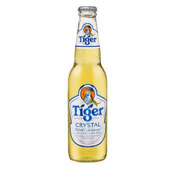 Tiger Crystal Lager Bottles 355ml