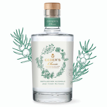 Ceders Distilled Non-Alcoholic Classic Gin - 500ml