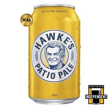 Hawkes Brewing Co Patio Pale Ale (American Style) Cans 375ml
