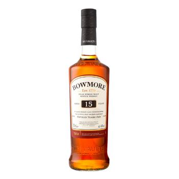 Bowmore Islay Single Malt Scotch Whisky 15 Years Old 700ml