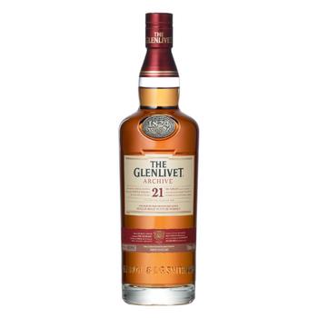 The Glenlivet Archive Single Malt Scotch Whisky 21 Years Old 700ml