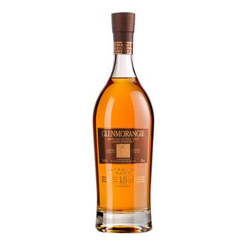 Glenmorangie Highland Single Malt Scotch Whisky 18 Years Old 700ml