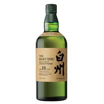 Suntory The Hakushu Single Malt Japanese Whisky 18 Years Old Distillers Reserve 700ml