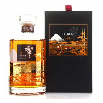 Suntory Hibiki® Kacho Fugetsu Edition Blended Japanese Whisky 21 Years Old 700ml