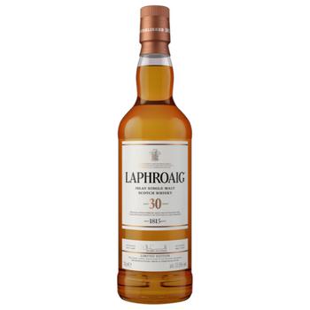 Laphroaig Islay Single Malt Scotch Whisky 30 Years Old 700ml