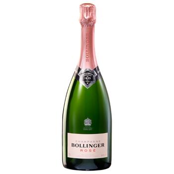 Bollinger Rosé Non Vintage Champagne 750ml