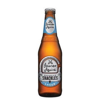 James Squire Shackles Lager Bottles 330ml