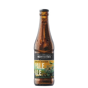 Monteith's Great Divide Pale Ale Bottles 330ml