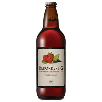 Rekorderlig Strawberry Lime Cider Bottles 500ml