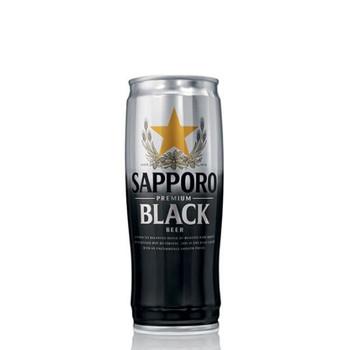 Sapporo Premium Black Lager Cans 650ml