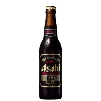 Asahi Super Dry Black Bottles 330ml