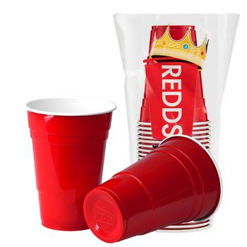 The Original REDD Plastic Cups 425ml