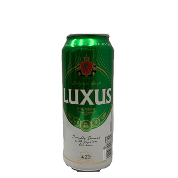 Luxus Belgian Style Lager Cans 500ml