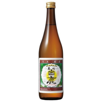 Kuromatsu Hakushika Junmai Sake 720ml