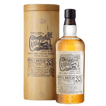 Craigellachie 33 Year Old Single Malt Scotch Whisky 700ml