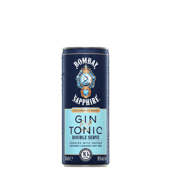 Bombay Sapphire Double Serve Gin and Tonic