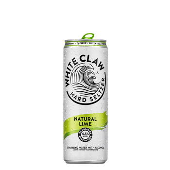 White Claw Lime Hard Seltzer Cans 330ml