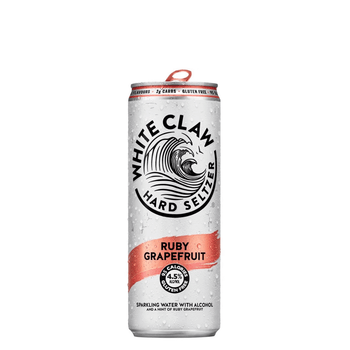 White Claw Ruby Grapefruit Hard Seltzer Cans 330ml