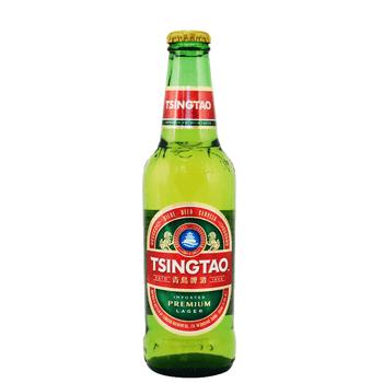 Tsingtao Premium Lager Bottles 330ml
