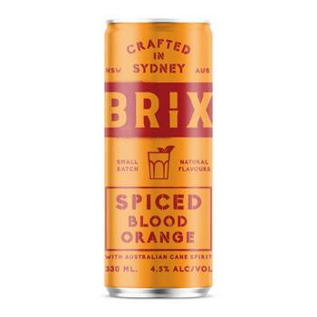 Brix Spiced Blood Orange 330ml
